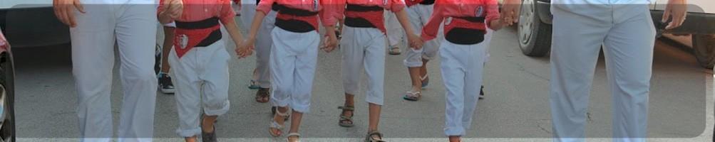 pantalones ideales para los castellers, gigantes, bastoners